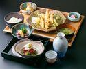 ランチ天ぷらコース