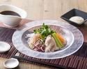 豚しゃぶと季節野菜の冷麺