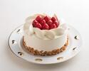 🔶14cmショートケーキ 誕生日、結婚記念日などのお祝いにどうぞ <お食事のオーダーと一緒にご注文ください。>