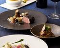 【9月 メニュー】秋鯖の冷燻や黒毛和牛フィレ肉のポワレのWメインなど 全6品