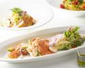 【Kazahana Pasta Lunch Set】スープ・デザート付き全3品