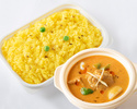 印度咖喱套餐(配藏红花饭)