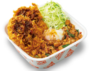 鶏ガパオダブルチキンカツ丼弁当