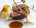 10月11月「鮑ディナー」メインのニュージーランド産牧草牛フィレ肉を黒毛和牛フィレ肉にグレードアップ!