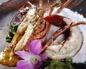 Special Ishigaki-beef fillet & Japanese spiny lobster set menu
