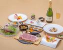 ローズホテル横浜40周年記念 鉄板焼コース<仙台牛サーロイン>