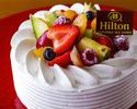 【記念日やお祝いに】生クリームショートケーキ 15cm