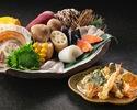 【天ぷらディナー】事前決済 選べる天ぷらコース