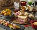 土・日・祝限定【Autumn Afternoon Tea ~Go To Urban Picnic~】90分フリーフロー付+乾杯ドンペリ付き