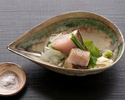 [Special dinner open for a short time] A trial course with the famous Spanish mackerel roasted with straw