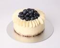 Blueberry Cheese Cake 12cm