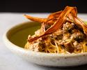 【選べるランチパスタ・本日のデザート付】旬の食材が彩る秋のパスタ、サラダ&スープ