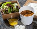 Beef curry, mixed lettuce leaves ¥2,916(Inclusive tax)