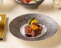 真鯛の土鍋飯と黒毛和牛グリルの特別ランチ会席 8品