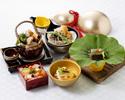 【 9月末までの期間限定】 瓢箪御膳(ひょうたんごぜん)食後の和菓子&ミニコーヒー付き
