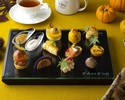 秋のアフタヌーンティーセット 10・11月土日祝日(17:30 or 18:00予約)