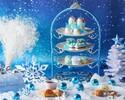 【お正月】スノープリンセスアフタヌーンティー~雪の女王~ロイヤルブルー