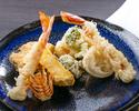 【天ぷらディナー】事前決済20% おまかせ天ぷらコース