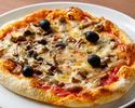 【お部屋へTake Out】6種類の茸を使ったピザ