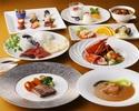 桃源郷ディナーコース 和菜16,500円