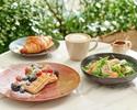 《コーヒー紅茶お代わり自由》前菜・メインが選べる  プリフィックスブランチコース