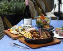 【バルエリア】~Casual Plan~★3H飲み放題付き!★肉グリル3種盛合せなど全7品、大皿プラン