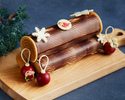 【Early Bird by 11/15, Online Exclusive Offer】 Christmas cake Buche Mont-Blanc
