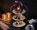 グラススパークリングワイン+AFTERNOON TEA  ---ハロウィーン---