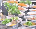 【Lunch Buffet】 10/1~シンガポールフード&オータムスイーツブッフェ 13:00以降のご入店(休日90分制)