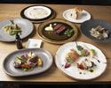 【 ディナーコース 料理5品 】マグロの薪焼きタリアータ&WINEペアリング3杯プレゼント!