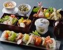 【一番人気】SHARI御膳 彩りロール寿司8種&季節のお料理