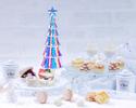 【12月平日先行予約/WEB早割10%OFF】 ホワイト・クリスマスアフタヌーンティー