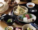 """Kaiseki Meal """"Wakamurasaki"""" 6,600 JPY (Over 10 people)"""