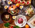 【クリスマスビュッフェ】ローストビーフ、お寿司、充実のデザートまでをご堪能!
