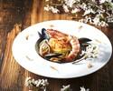 11月特価!【menu Stagione 全5品】前菜盛り合わせ+旬素材のピッツァ2種+旬素材のパスタ+牛サーロインのグリリア+季節のドルチェ 旬の味覚を愉しむディナーコース ※3hフリードリンク付き