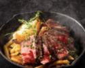 《忘年会Bプラン》11/1~石窯焼き牛リブ&ハラミと絶品ボロネーゼ、キャンドルスイーツの忘年会Bプラン